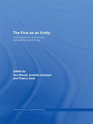 The Firm as an entity