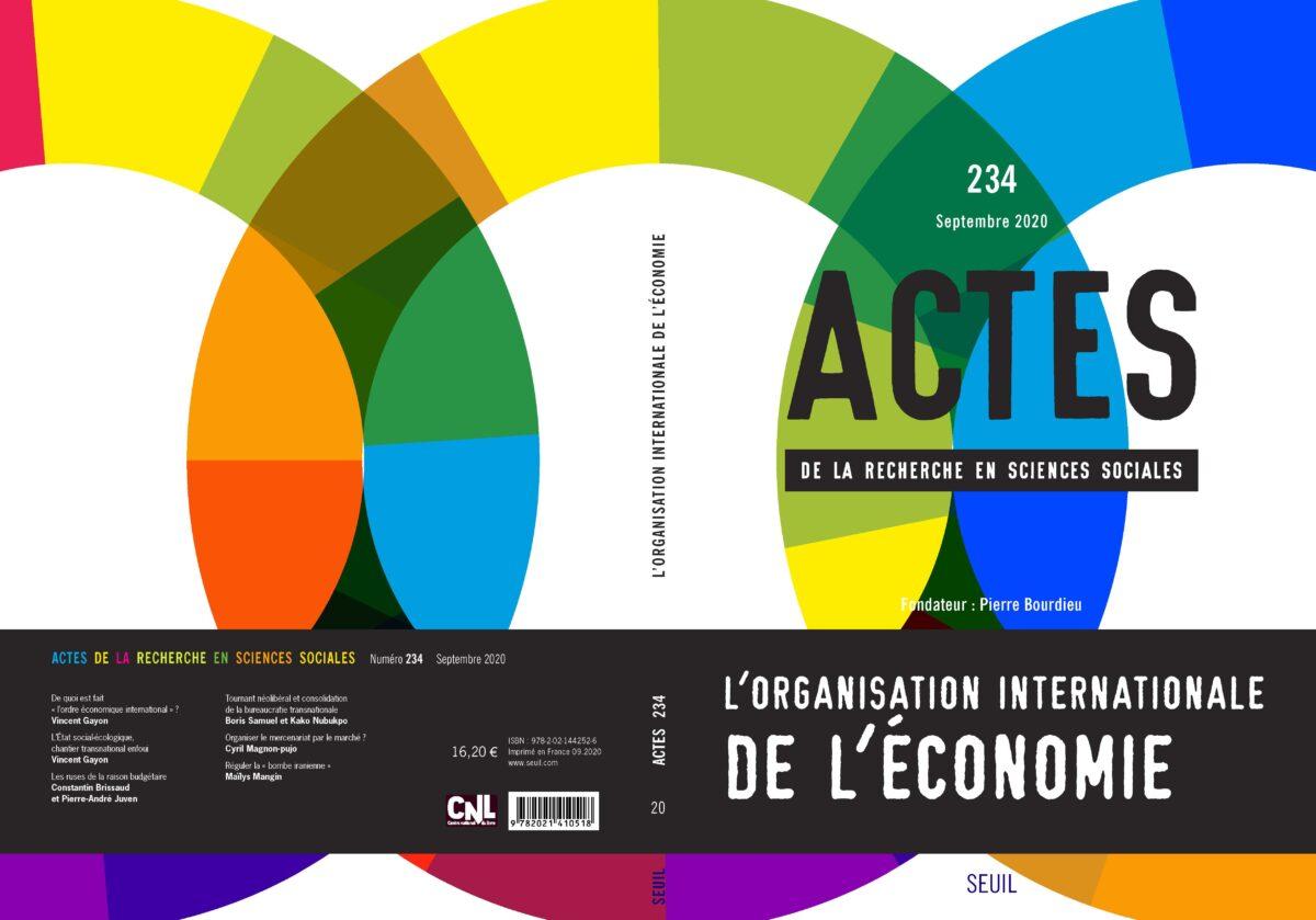 L'organisation internationale de l'économie